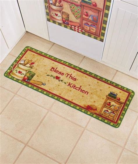 country style kitchen rugs 52 rug bless this kitchen country style kitchen runner ebay