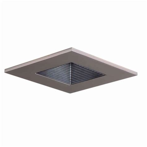 1000 images about lighting bathroom on drywall squares and bathroom modern halo 3 in satin nickel recessed ceiling light square trim with regressed lens shower