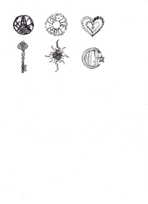 small tattoo drawing random small designs by nesserxd on deviantart