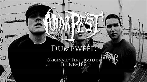 blink 182 dumpweed blink 182 dumpweed metal cover by anna pest youtube