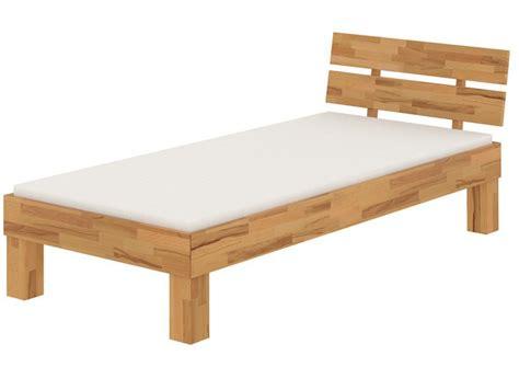Betten Mit Lattenrost Und Matratze 88 holzbett eiche massiv einzelbett 100x200 bettgestell mit