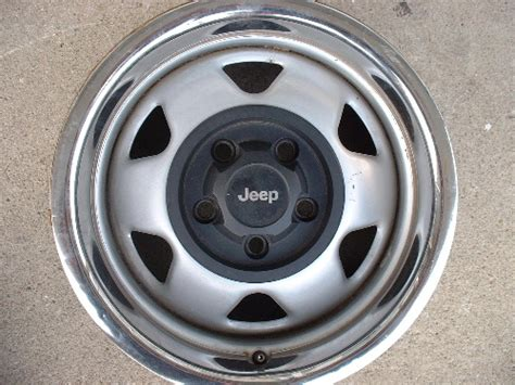 Steel Jeep Wheels Jeep Factory Original Steel Wheels Rims Winter Snow