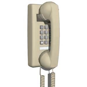 traditional wall phone 3d model formfonts 3d models