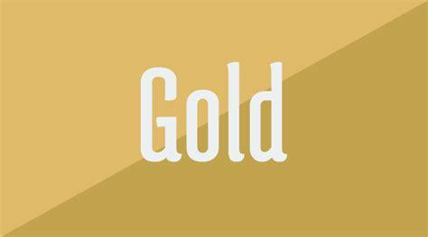 color oro el naranja el color subestimado silo creativo