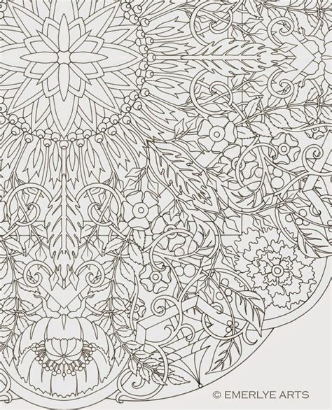 191 Best Images About My Adult Coloring Pages On Pinterest Complex Mandala Coloring Pages Printable