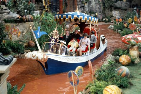 willy wonka boat scene willy wonka and the chocolate factory 1971 family