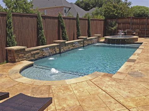 geometric pools dallas geometric pool design gallery frisco plano pool