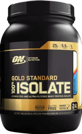 optimum nutrition gold standard  isolate compare