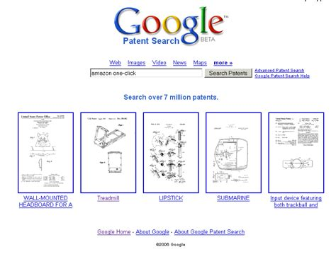 Pat Search Patent Search Released
