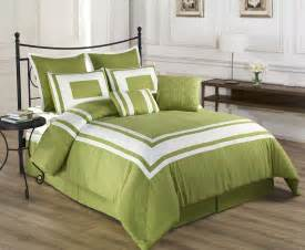 8 piece lux decor pistachio green comforter set