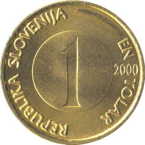 Tolar 1 tolar slovenia numista