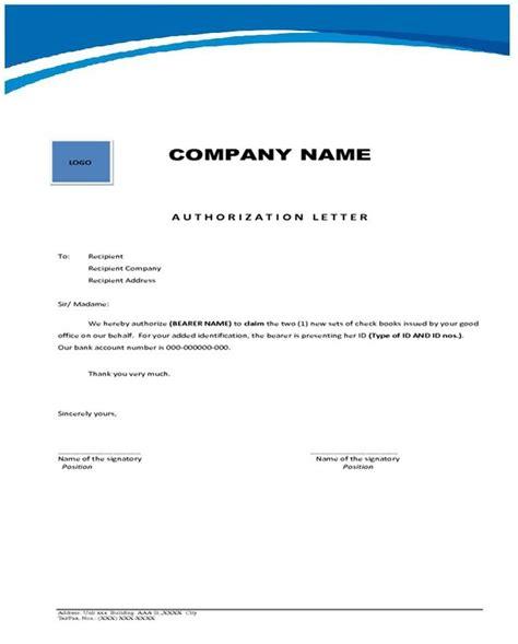 Authorization Letter To Change Address