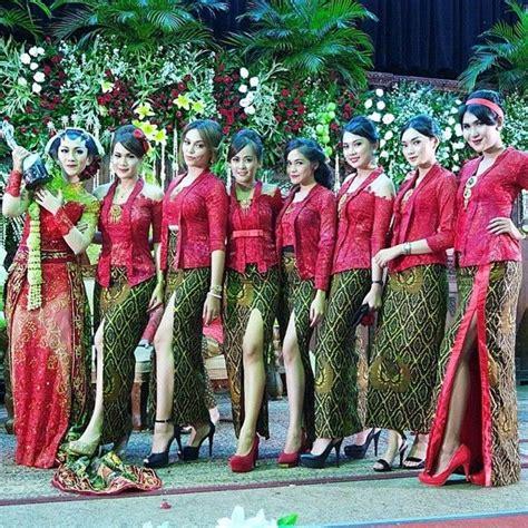 Dress Merah Batikgaun Merah Batik kebaya broklat merah cantik dengan bawahan rok motif batik kebaya kebaya baju