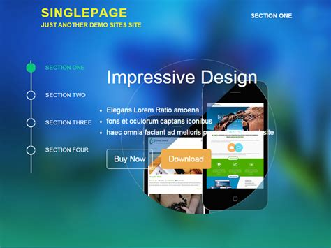 theme wordpress one page responsive theme directory free wordpress themes
