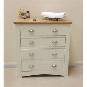 kensington painted 4 drawer wide chest of drawers