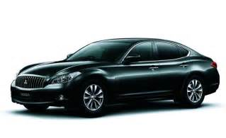Mitsubishi M Infiniti M Based Mitsubishi Proudia And Dignity Revealed