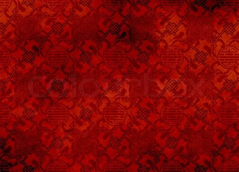 free chinese pattern background chinese red textured pattern in filigree for background or