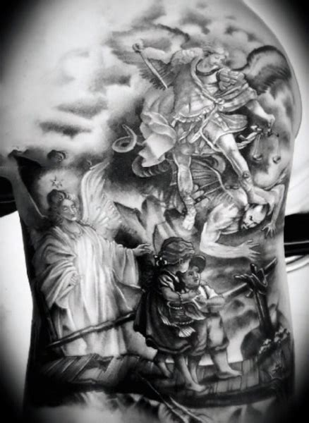 watch over me tattoo designs 100 guardian tattoos for spiritual ink designs