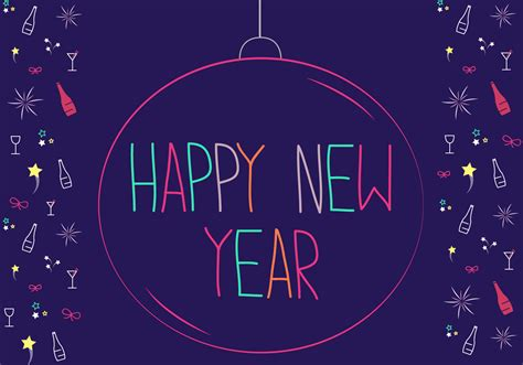 happy  year vector   vector art stock graphics images