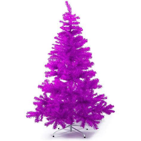 hab gut k 252 nstlicher weihnachtsbaum lila purple ca 240cm