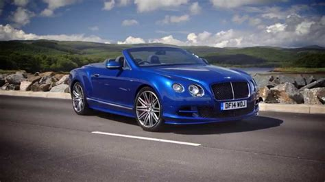 bentley blue 2015 bentley continental gt speed convertible sequin blue