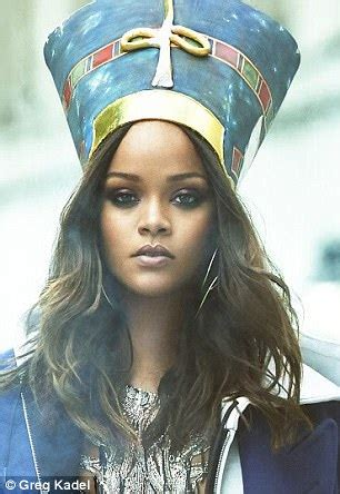 rihanna pays homage to queen nefertiti for vogue arabia rihanna pays homage to queen nefertiti for vogue arabia