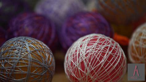 diy light balls how to diy yarn light balls