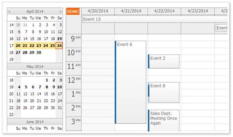 tutorials daypilot for asp net mvc calendar scheduler daypilot pro for asp net mvc 7 7 sp5 daypilot for asp