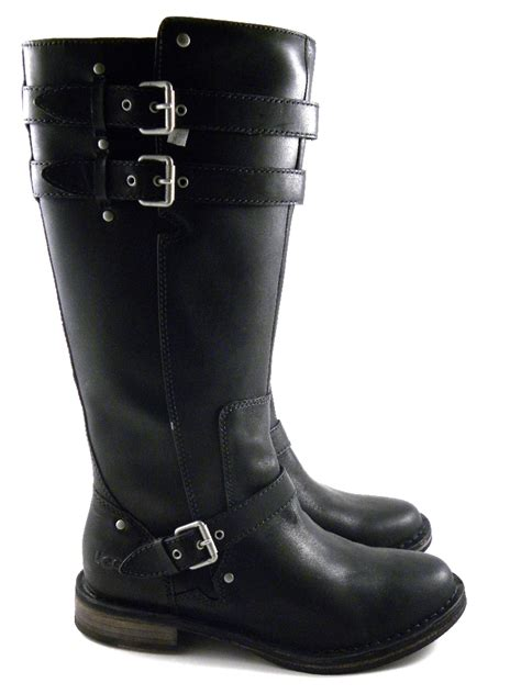 boots womens ugg austrlaia gillespie black winter boots