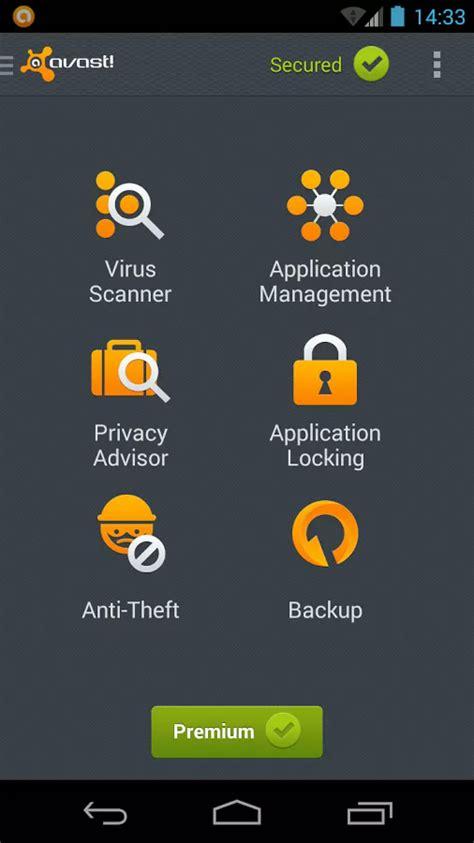 antivirus for android phone تحمل برنامج مضاد الفيروسات القوي والخفيف افاست للأندرويد avast mobile security