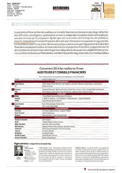 Cabinet Conseil Financier by Afival Dans Le Classement Des Meilleures Firmes D Audit Et