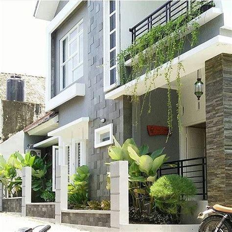 gambar teras rumah minimalis  batu alam teras rumah minimalis modern pinterest