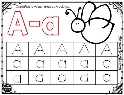 imagenes educativas para preescolar actividades para aprender las vocales en preescolar y