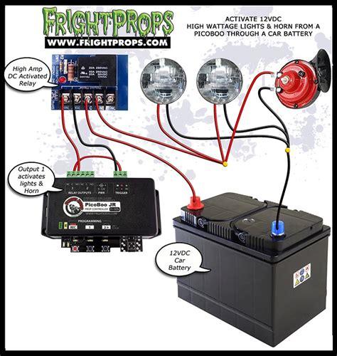 wiring diagram car horn diagram free printable