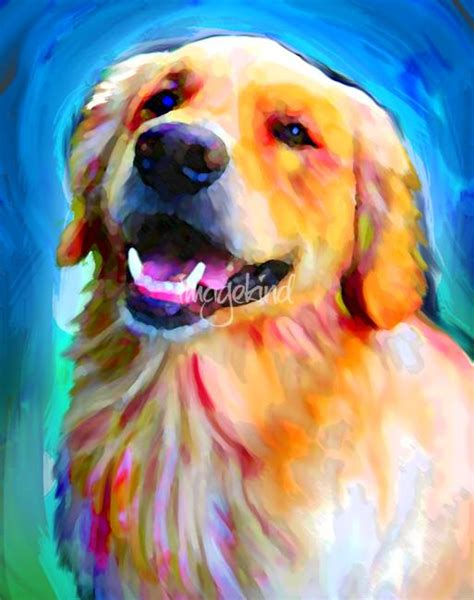 golden retriever paintings stunning quot golden retriever quot artwork for sale on prints