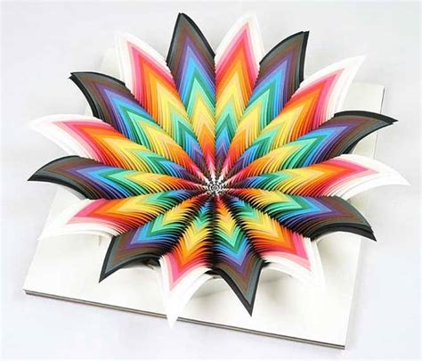 Paper Craft Artists - 15 creative and modern ideas for interior decorating and