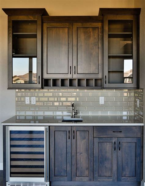 kitchen bar cabinet ideas ideas about bar cabinets basement built