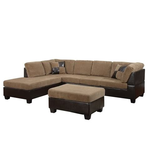 sectional pieces sold separately acme furniture connell 2 piece faux leather sectional sofa