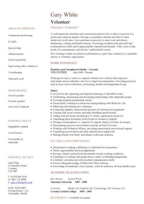 Volunteering Resume Sample – Community Volunteer Resume Sample   To do list