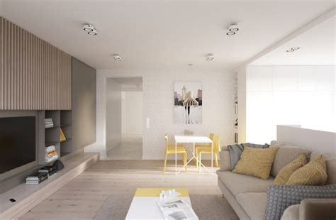 yellow themed living room four sleek living rooms with simple color palettes