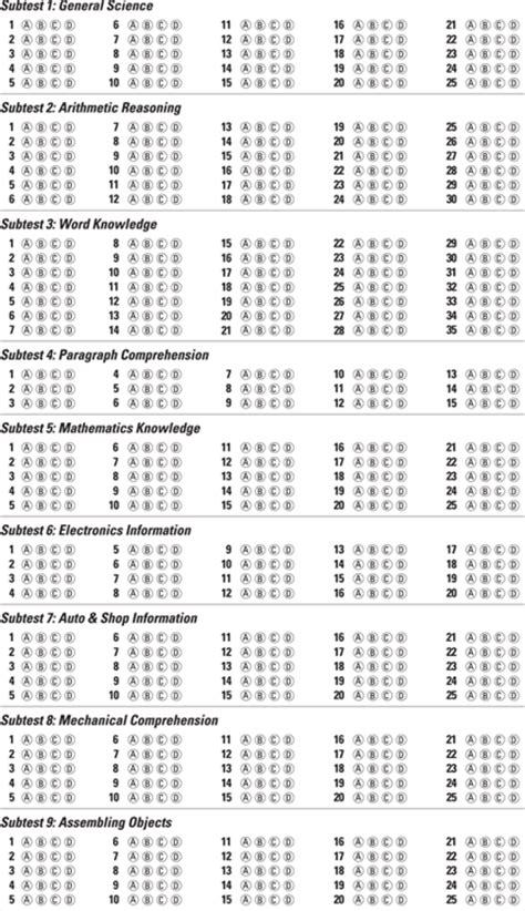 Asvab Worksheets by Asvab Math Practice Worksheets Printable 1000 Ideas