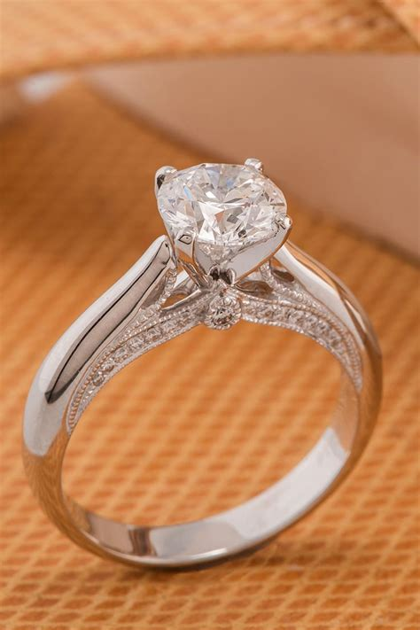 17 best ideas about platinum engagement rings on