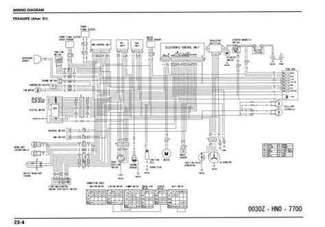 fourtrax 300 wiring schematic ignition schematics wiring