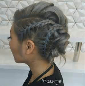 upstyle hair styles 25 chic braided updos for medium length hair hairstyles