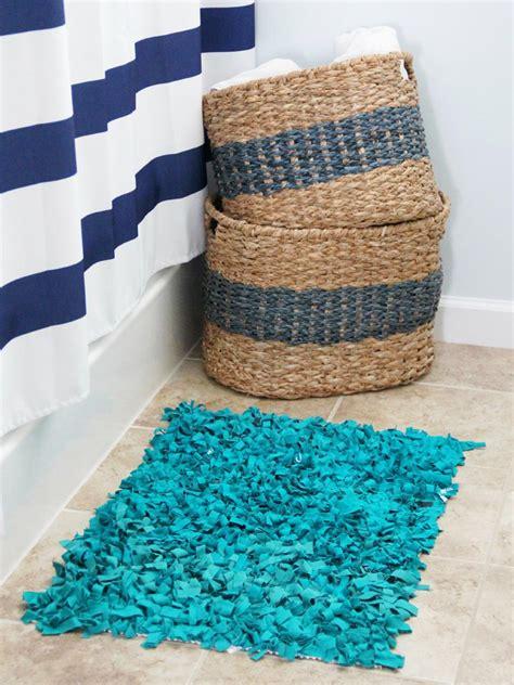Diy Bathroom Rug Easy Sew And No Sew For Rugs Diy