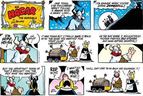 hagar the horrible dailystrips for sunday may 20 2007