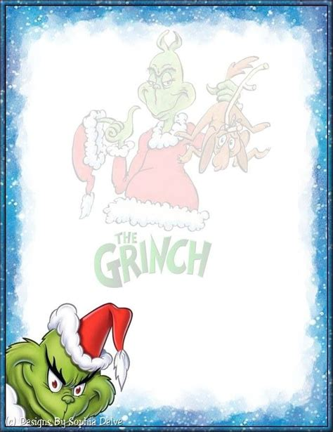 grinch paper images 141 best images about borders on free printable invitations and thanksgiving