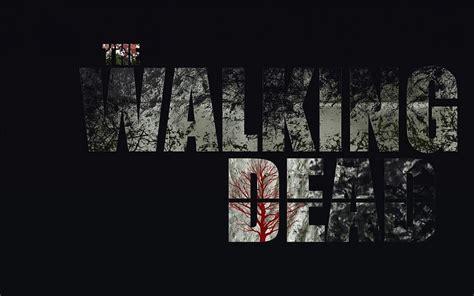 imagenes hd the walking dead the walking dead logo 2014 fondo de pantalla fondos de