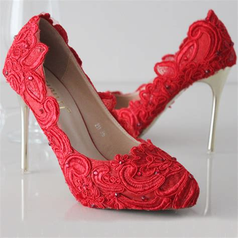 High Heels 5cm Hitam Limited lace shoes new closed toe high heels thin heel