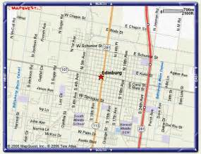map of edinburg edinburg tx pictures posters news and on your